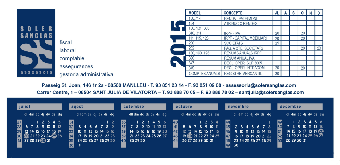 calendarijuliol